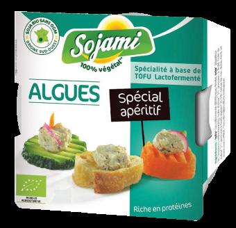 Sojami à tartiner - spécial apéritif - aux algues, Le Sojami (125 g)