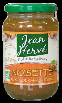 Noisettes au suc de canne intégral BIO, Jean Hervé (360 g)