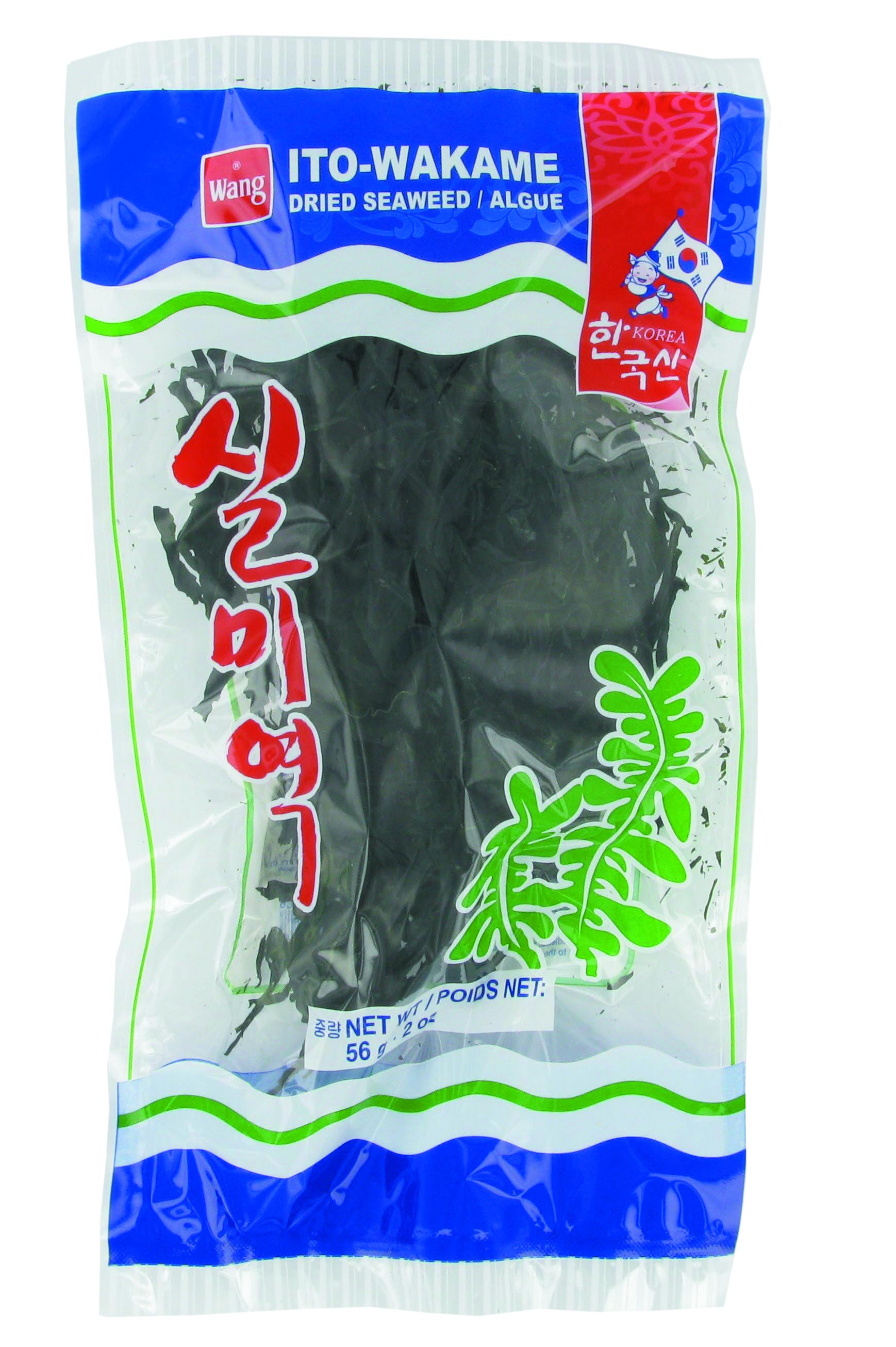 Algues wakamé séchées, Wang (56 g)