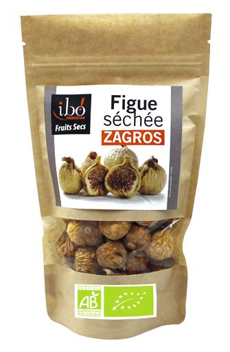 Figues séchées Zagros BIO, Ibo (200 g)