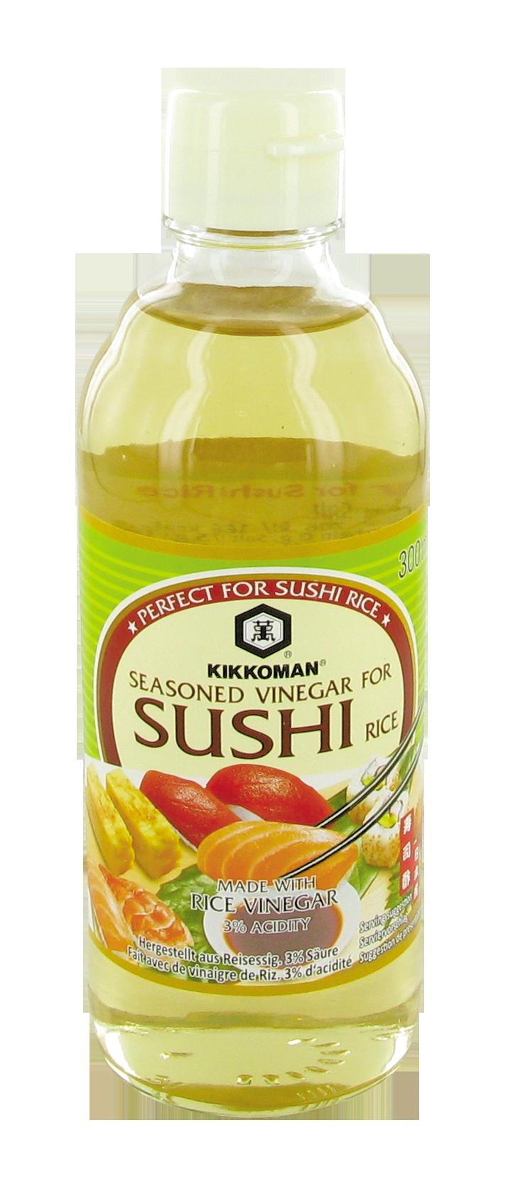 Assaisonnement au vinaigre pour riz à sushi, Kikkoman (300 ml)