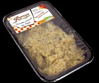 Choucroute cuisinée BIO, Rostain (400 g)