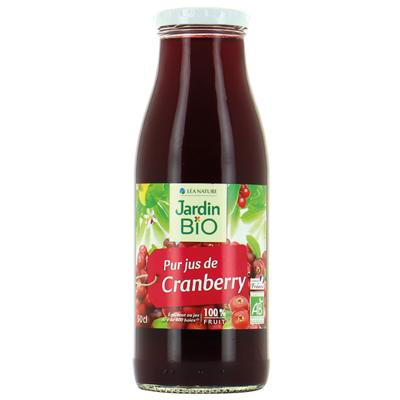 Jus de cranberry BIO, Jardin Bio (50 cl)