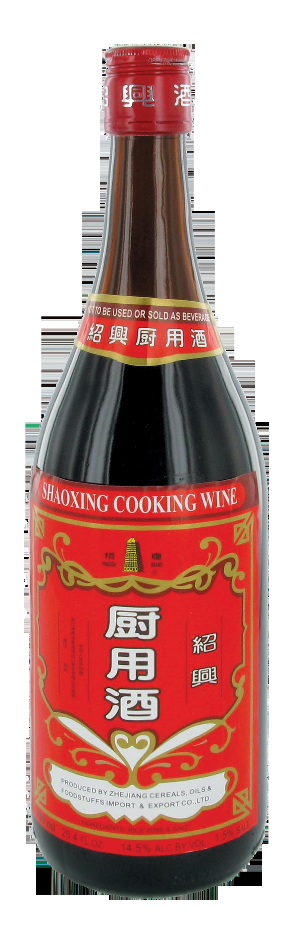 Alcool Shaoxing pour la cuisine, Pagoda (75 cl)