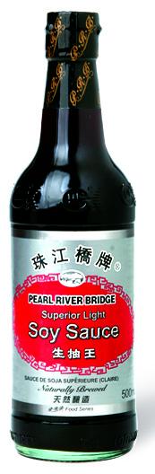 Sauce soja supérieure light, Pearl River Bridge (50 cl)