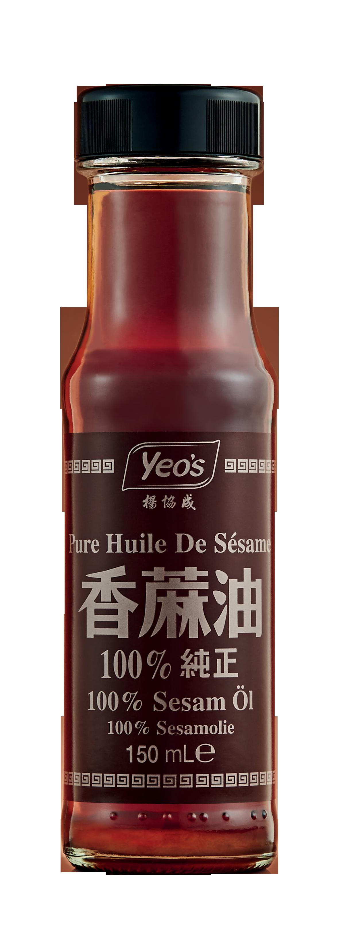 Huile de sésame, Yeo's (15 cl)