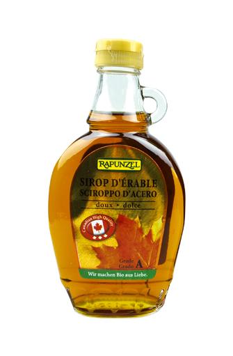 Sirop d'érable grade A BIO, Rapunzel (250 ml)