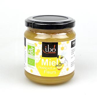 Miel de fleurs BIO, Ibo (400 g)