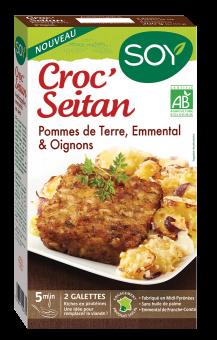 Croc'seitan emmental BIO, Soy (x 2, 100 g)