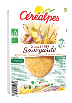 Galettes de céréales savoyarde BIO, Céréalpes (x 2, 180 g)