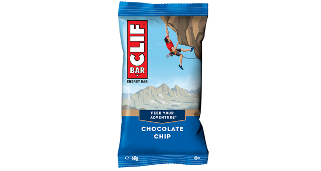 Barre aux pépites de chocolat, Clif (68 g)