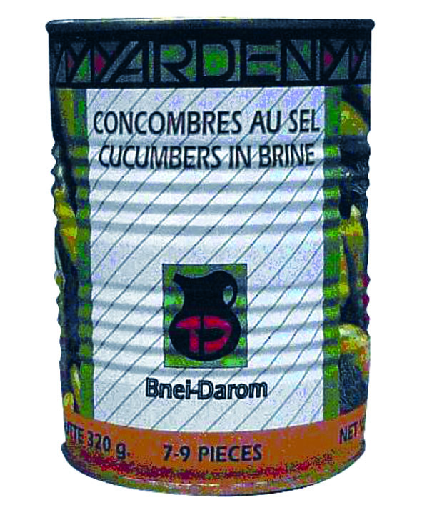 Concombres au sel, Yarden (385 g)
