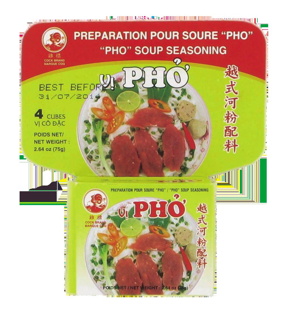 Préparation pour Pho, Cock (75 g)