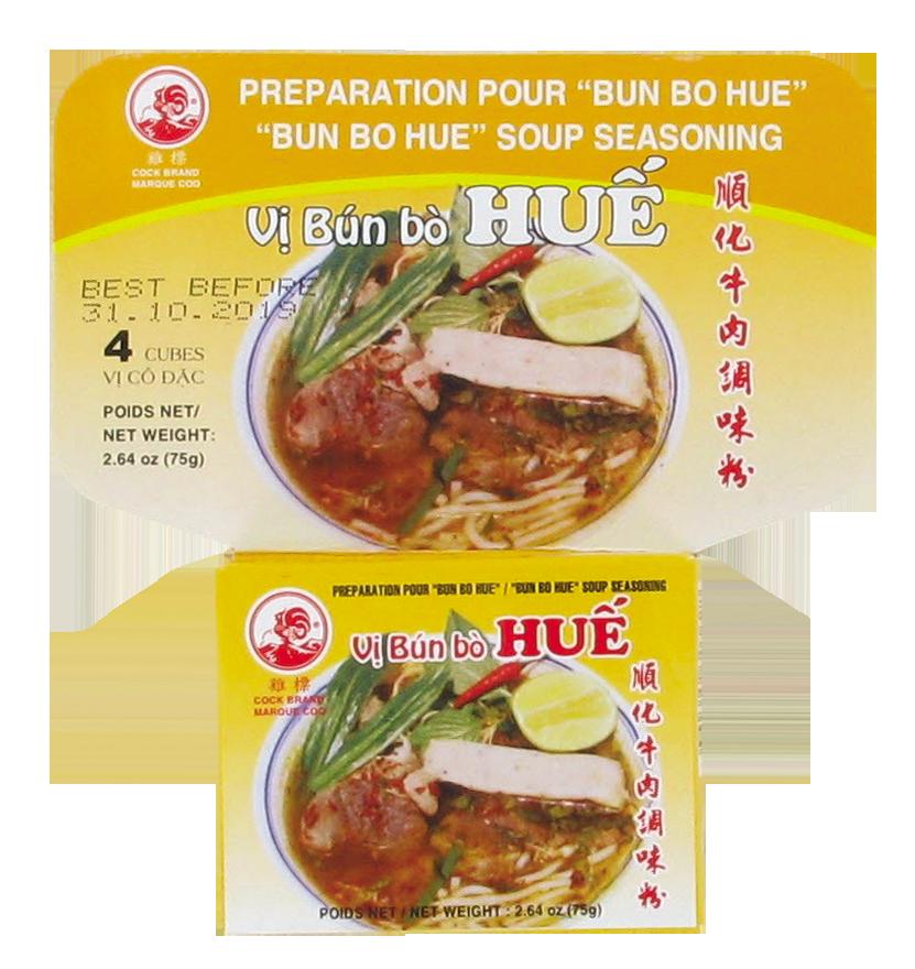 Préparation pour soupe Bun Bo Hue, Cock (75 g)