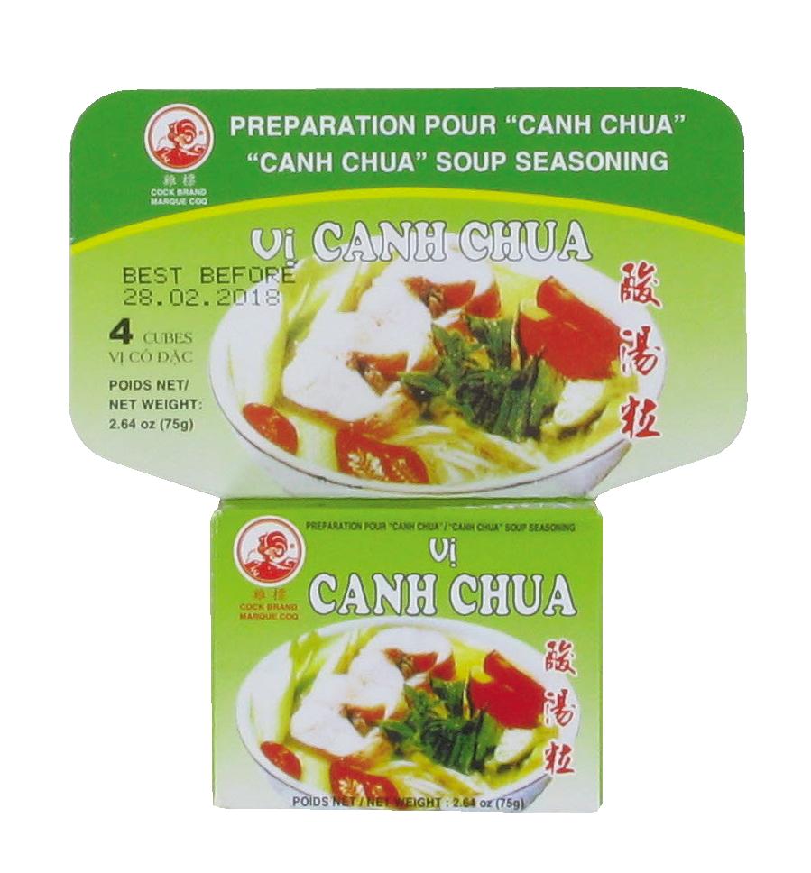 Préparation pour soupe Canh Chua, Cock (75 g)
