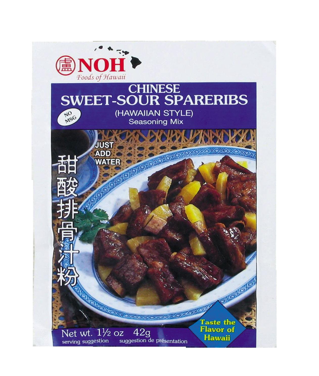Préparation pour cotelettes de porc à la sauce aigre douce, Noh (42 g)
