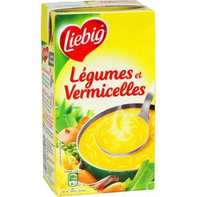 Soupe légumes et vermicelles, Liebig (1 L)