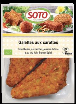 Galettes aux carottes, Soto (x 6, 195 g)