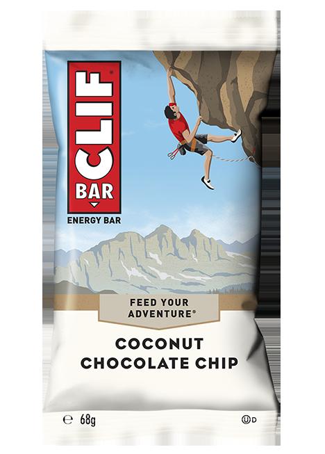 Barre à la noix de coco et au chocolat, Clif (68 g)