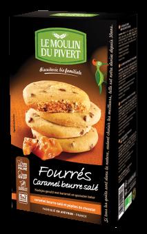 Fourrés caramel beurre salé, Le Moulin du Pivert (175 g)