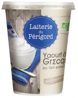 Yaourt à la grecque BIO, Laiterie du Périgord (400 g)