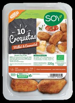 Croquetas au millet et à l'emmental BIO, Soy (220 g)