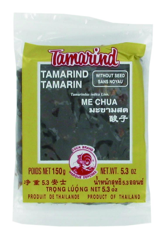 Pâte de tamarin sans noyau Cock (150 g)
