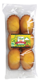 Madeleines pâtissières, Vital Bio (150 g)