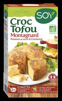 Croc tofou montagnard BIO, Soy (x 2, 200 g)