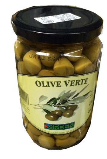 Olives vertes, Yarden (650 g)