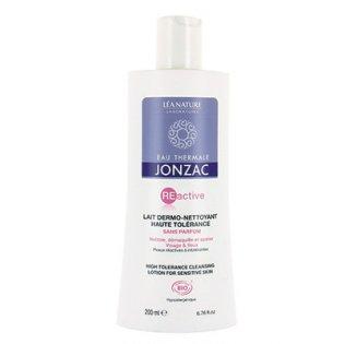 Lait dermo-nettoyant visage et yeux REactive, Eau thermale Jonzac (200 ml)