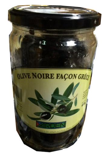 Olives noires façon Grèce, Yarden (400 g)