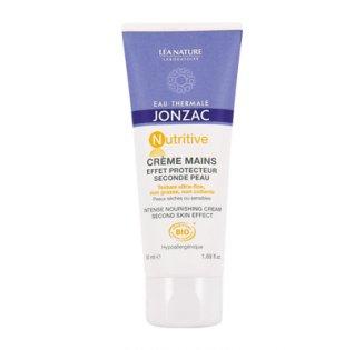 Crème mains effet protecteur seconde peau NUTRITIVE, Eau thermale de Jonzac (50 ml)