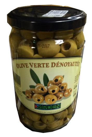 Olives vertes dénoyautées, Yarden (320 g)