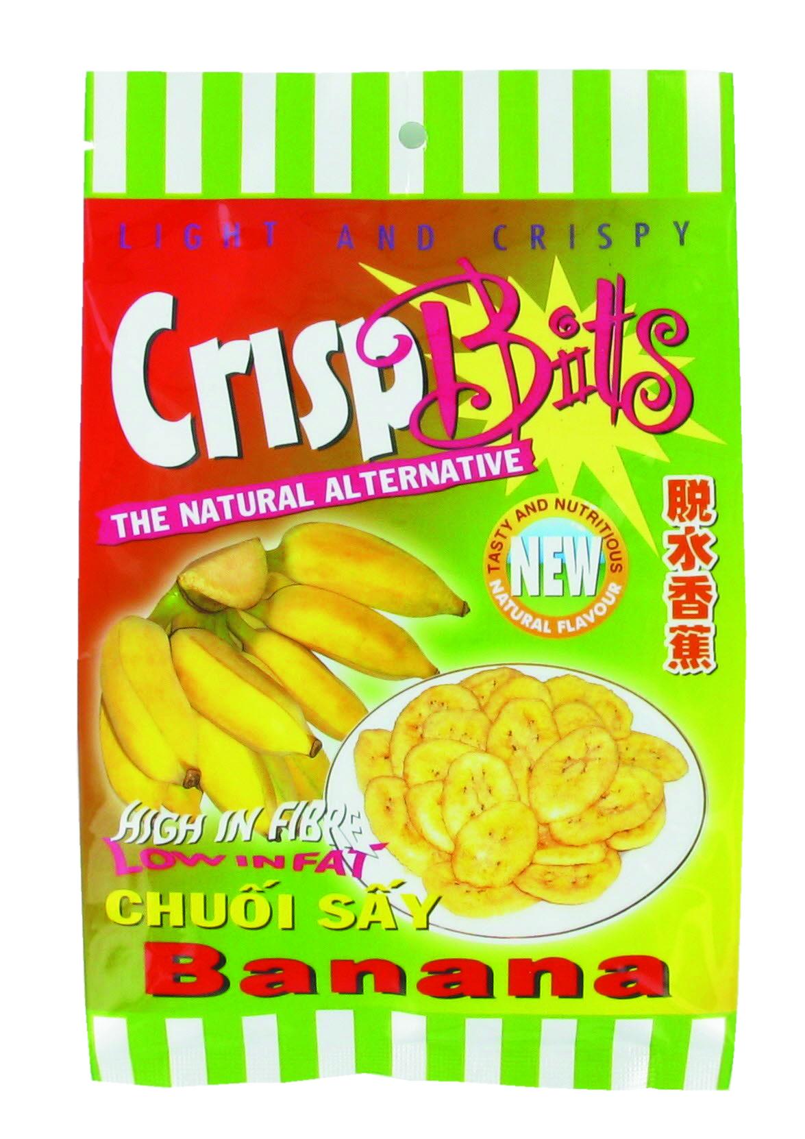 Chips de bananes Crisp Bitts (100 g)
