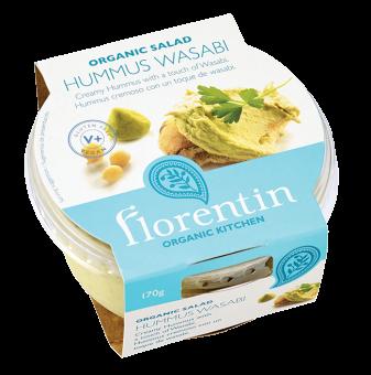 Hummus Wasabi BIO, Florentin (170 g)