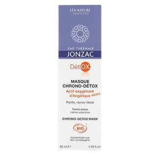 Masque chrono-DETOX, Eau thermale Jonzac (50 ml)