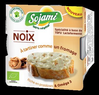 Sojami à tartiner noix, Le Sojami (125 g)