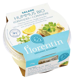 Hummus coriandre BIO, Florentin (170 g)