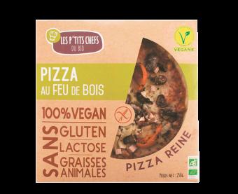 Pizza reine sans gluten, Les P'tits Chefs du Bio (250 g)
