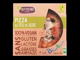 Pizza à la bluerisella sans gluten, Les P'tits Chefs du Bio (250 g)