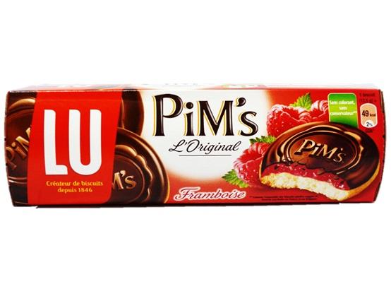 Pim's framboise, Lu (x 10, 150 g)
