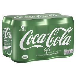 Coca-Cola Life (6 x 33 cl)
