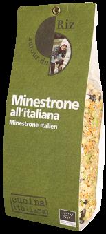 Minestrone italien BIO, Autour du Riz (500 g)
