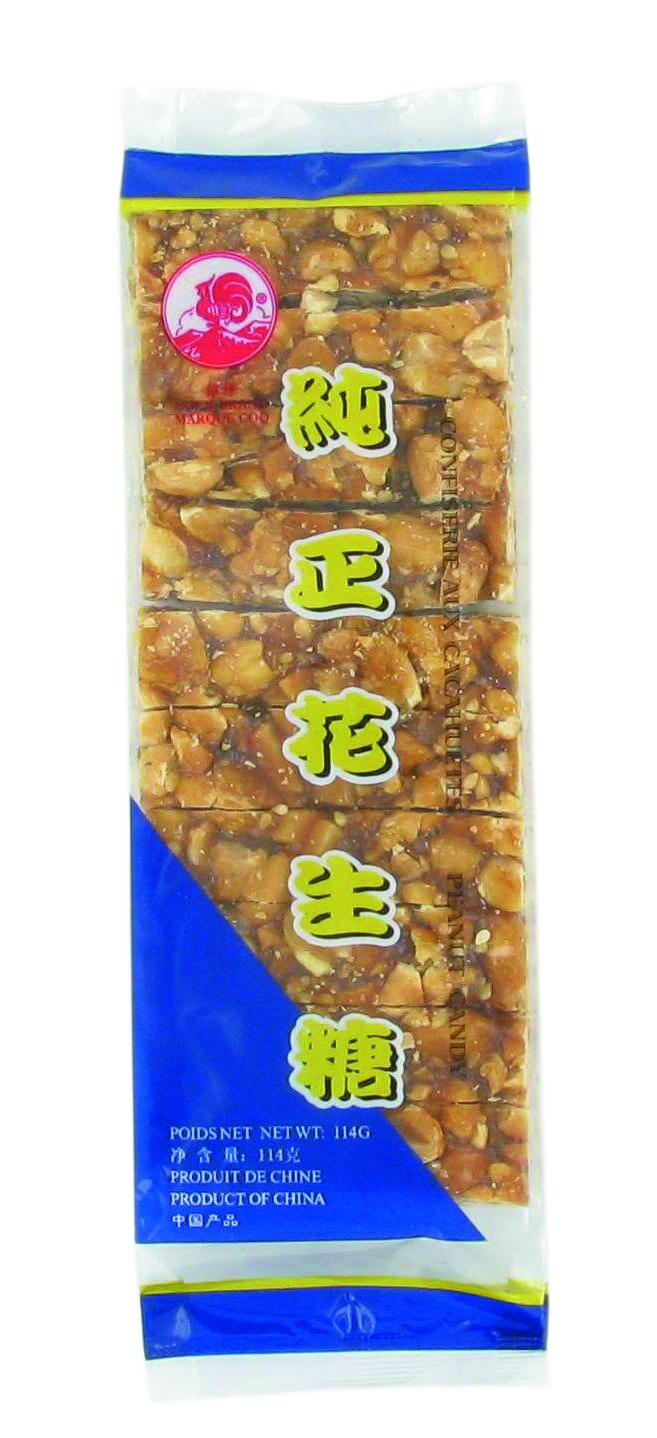 Nougatine de cacahuètes (114 g)
