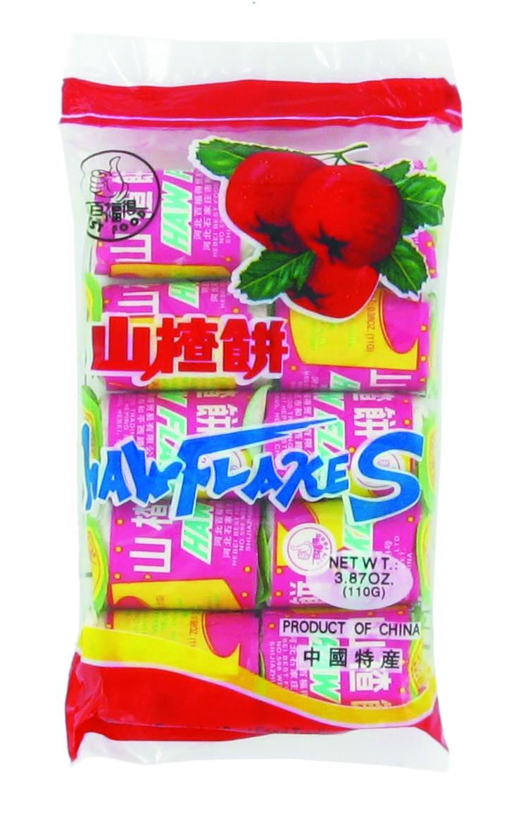 Bonbons de Cenelle, Haw Flakes (10 x 11 g)