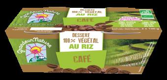 Dessert végétal riz café BIO, Grandeur Nature (x 2, 200 g)