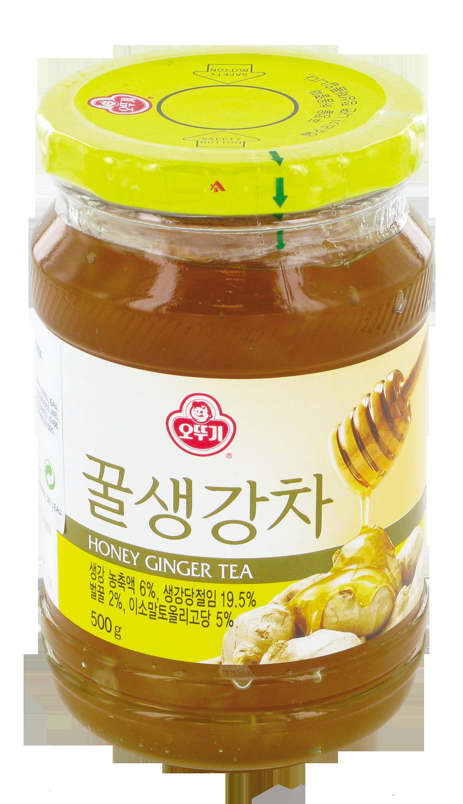Préparation pour boisson au gingembre et au miel, Ottogi (500 g)