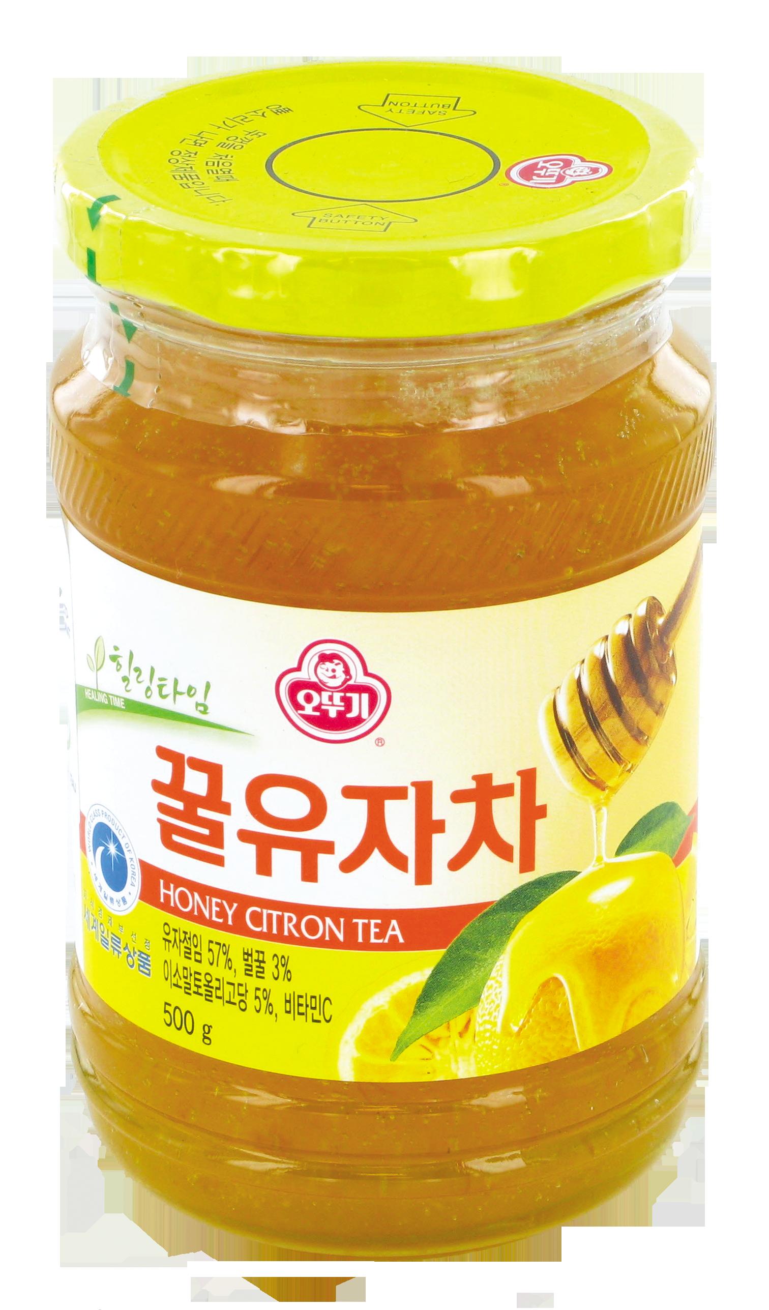 Préparation pour boisson aux citrons et au miel, Ottogi (500 g)