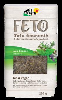 Feto tofu fermenté aux herbes, Taifun (200 g)